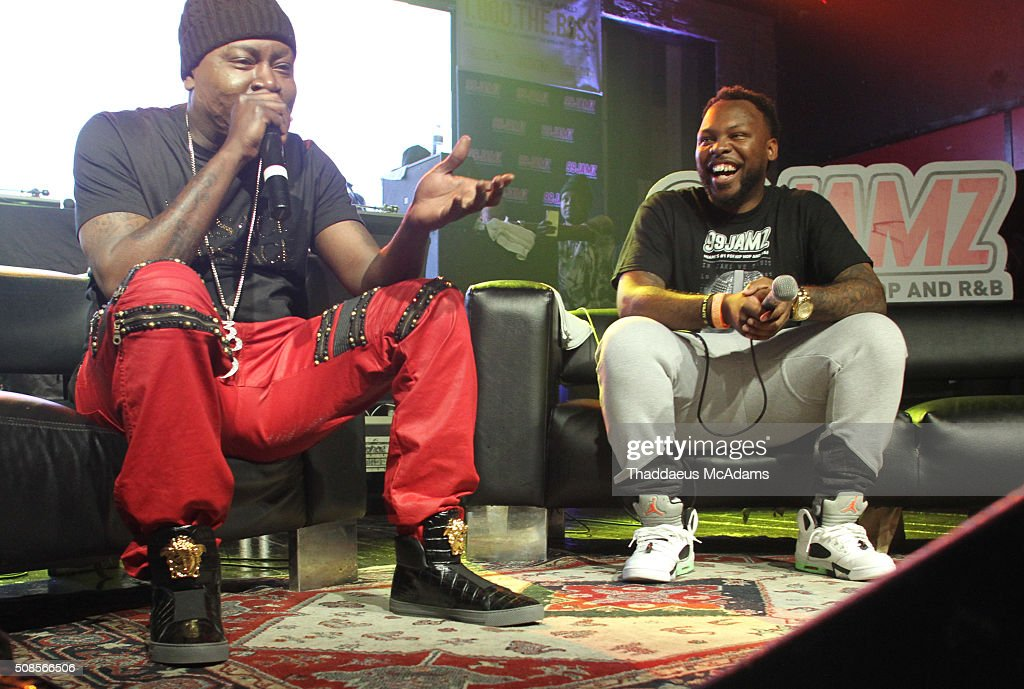 Trick Daddy and DJ Nailz at Revolution on February 4, 2016 in Fort Lauderdale, Florida.