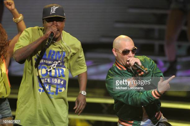 Trick Daddy and Paul Wall perform onstage at the 2010 Vh1 Hip Hop Honors at Hammerstein Ballroom on June 3 2010 in New York City