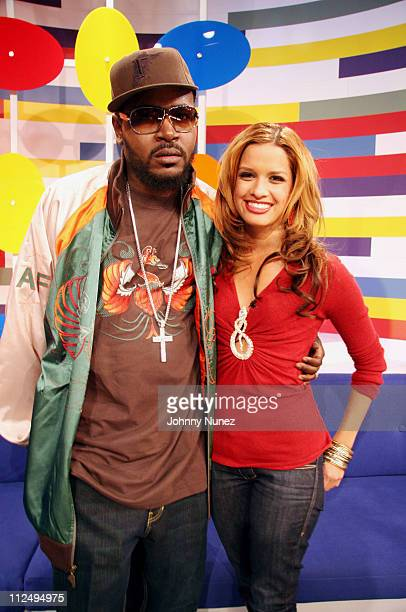 Trick Daddy and Rocsi during Ciara Trick Daddy Ying Yang Twins and Eva Pigford Appear on 106 Park at BET Studios in New York City New York United...