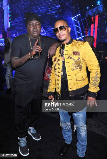 Trick Daddy and TI attend VH1 Hip Hop Honors The 90s Game Changers at Paramount Studios on September 17 2017 in Los Angeles California