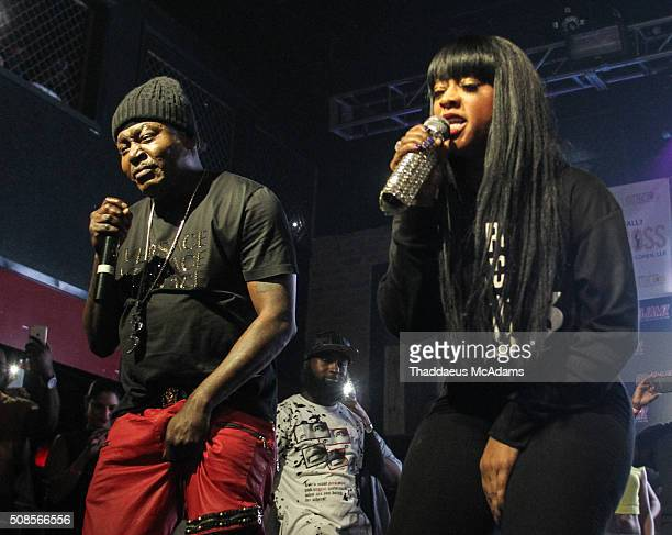 Trick Daddy and Trina perform at Revolution on February 4 2016 in Fort Lauderdale Florida