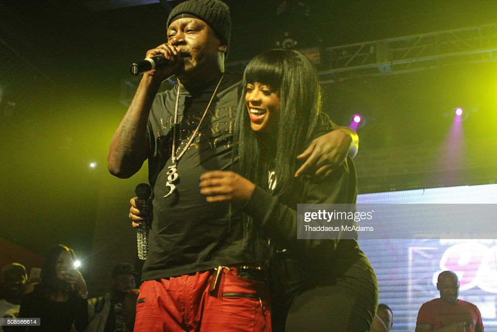 Trick Daddy and Trina perform at Revolution on February 4, 2016 in Fort Lauderdale, Florida.