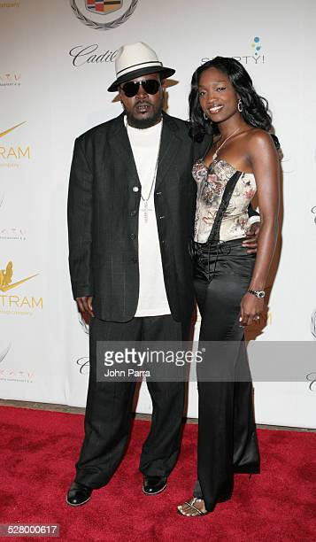 Trick Daddy and wife during Shaq's 34th Scarface Birthday Party Arrivals at Indian Creek Island in Miami Beach Florida United States