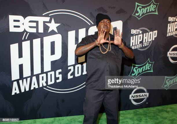 Trick Daddy attends BET Hip Hop Awards 2017 on October 6 2017 in Miami Beach Florida