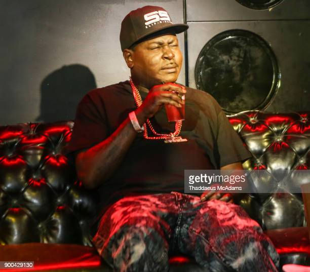Trick Daddy attends the Love And Hip Hop Miami Screening with the cast of Love and Hip Hop at Studid 23 on January 1 2018 in Miami Florida