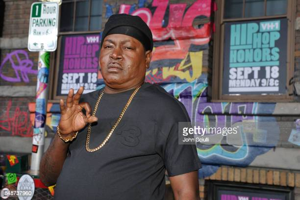 Trick Daddy attends VH1 Hip Hop Honors The 90s Game Changers at Paramount Studios on September 17 2017 in Los Angeles California