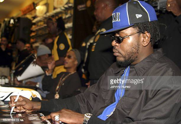 Trick Daddy during Joint Chief's Autograph Signing November 23 2004 at Champs Sports 125th Street in New York New York United States
