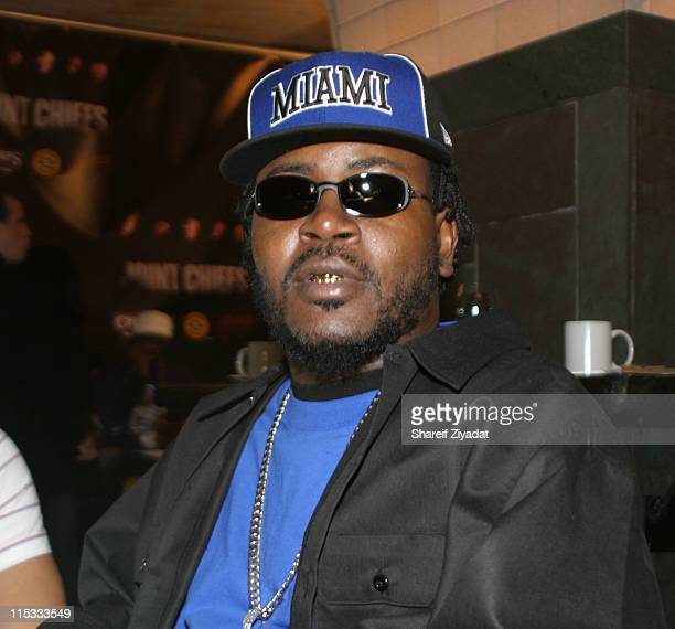 Trick Daddy during Joint Chief's Press Junket November 23 2004 at Bryant Park Hotel in New York City New York United States