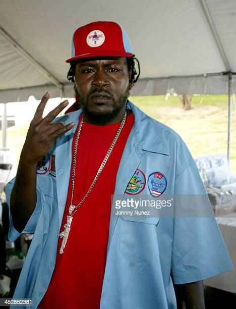 Trick Daddy during Miami Spring Fest 2005 at BayFront Park in Miami Florida United States
