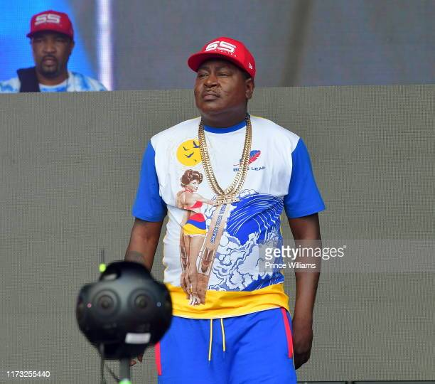 Trick Daddy performs at the 10th annual ONE Musicfest at Centennial Olympic Park on September 7 2019 in Atlanta Georgia