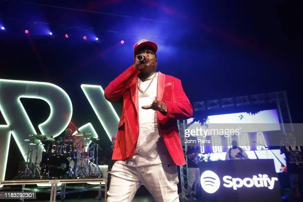 Trick Daddy performs during the RapCaviar Live Concert on October 24 2019 in Miami Beach Florida