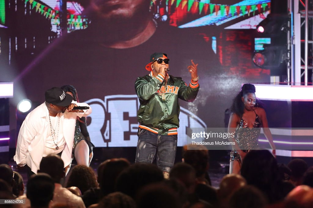 Trick Daddy performs onstage at BET Hip Hop Awards 2017 on October 6, 2017 in Miami Beach, Florida.
