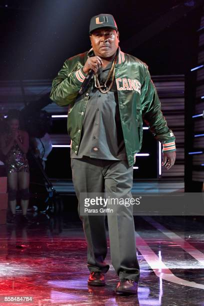 Trick Daddy performs onstage during the BET Hip Hop Awards 2017 at The Fillmore Miami Beach at the Jackie Gleason Theater on October 6 2017 in Miami...