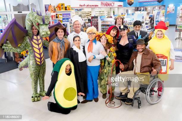 "Trick or Treat"" Episode 506 -- Pictured: Jon Barinholtz as Marcus, Ben Feldman as Jonah, Kaliko Kauahi as Sandra, Mark McKinney as Glenn, America..."