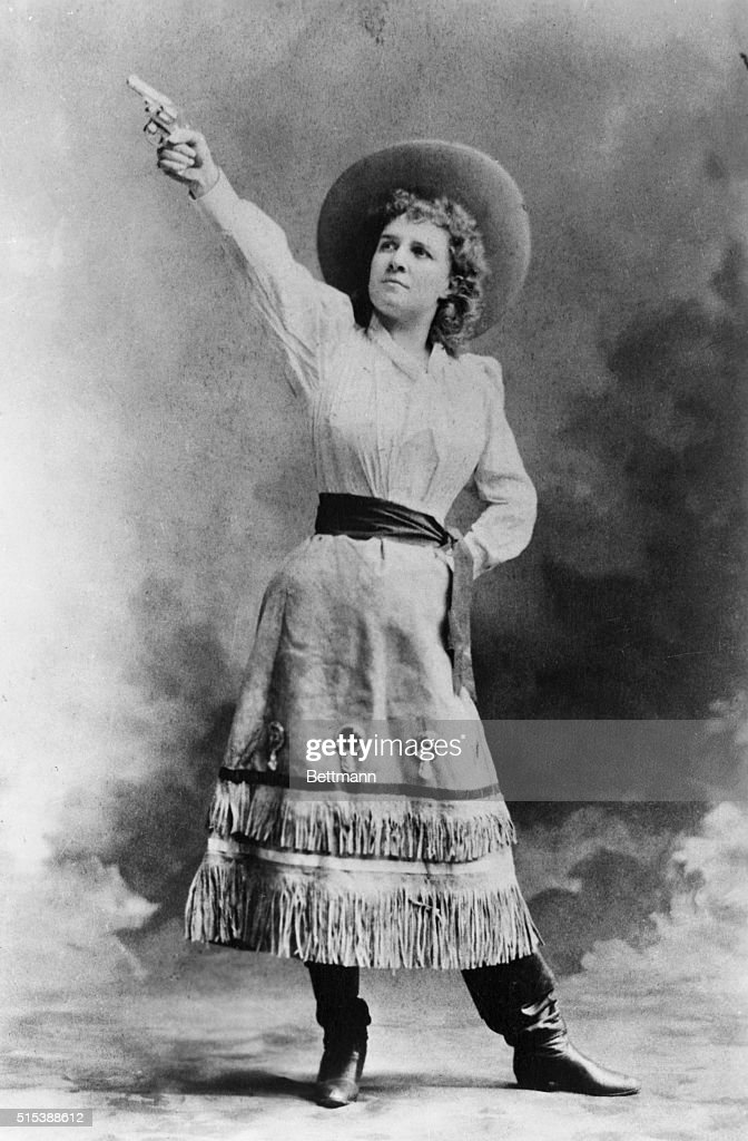 Legendary sharpshooter Annie Oakley died on 3 November 1926