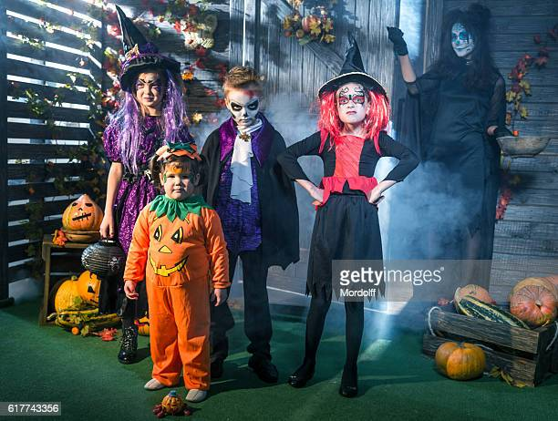 Trick-or-treating For Children On Halloween