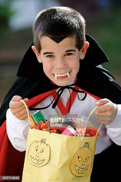 Trick-or-treating Vampire