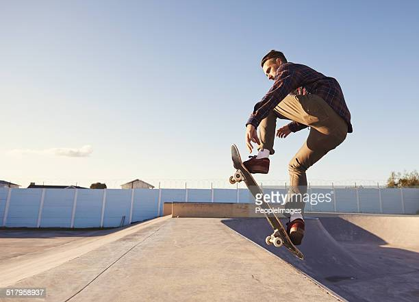 Tricks at the skate park
