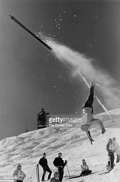 HAPPEN Tricks like thiswell almost like thiswill be the rule at Vail Wednesday Thursday for Rocky Mountain Freestyle Skiing Championships with...