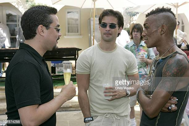 Tricky of Massive Attack during W Magazine Hollywood Yard Sale at Private Home in Los Angeles California United States