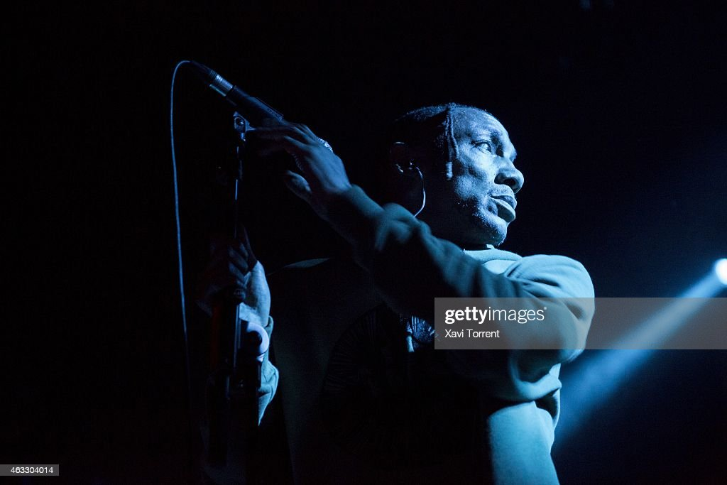 Tricky Performs in Concert in Barcelona