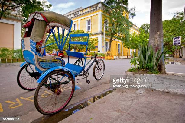 Tricycle carriage from Pondicherry