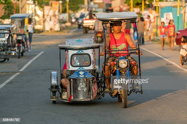 Tricycle in Batangas, Philippines