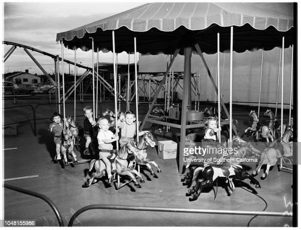 TriDelta Alumnae Children's Hospital Benefit Children in Pictures 26 October 1951 Laurel Ann RodgersKeith EvansGordon EvansBetty Jean TobinJimmy...
