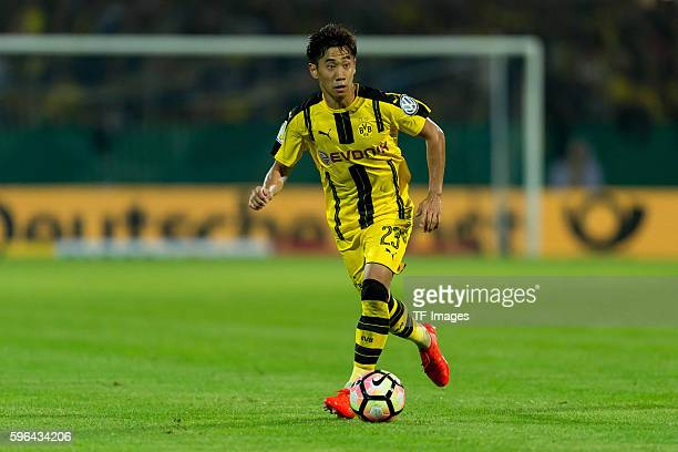 Trier Germany DFBPokal 1 Runde SV Eintracht Tier 05 BV Borussia Dortmund 03 Shinji Kagawa
