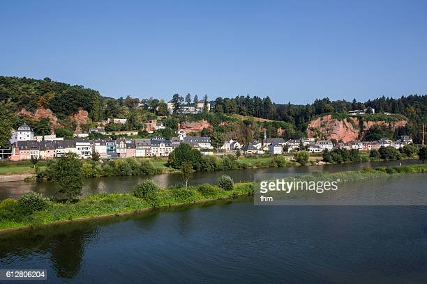 Trier - Pallien district/ Rhineland-Palatinate/ Germany. A historic city on the banks of the Moselle