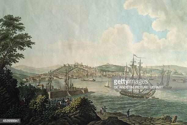 Trieste city and its free port Italy 18th century Trieste Museo Di Storia E Arte E Orto Lapidario