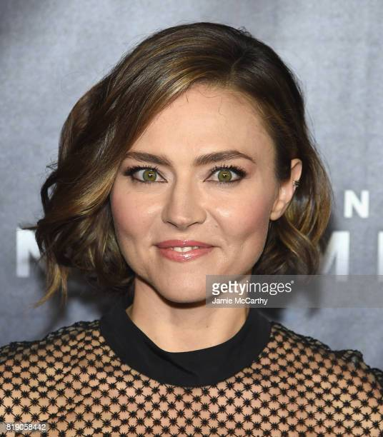Trieste Kelly Dunn attends the Discovery's 'Manhunt Unabomber' World Premiere at the Appel Room at Jazz at Lincoln Center Frederick P Rose Hall on...