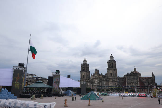 MEX: Mexico Celebrates 200 Years Of Independece