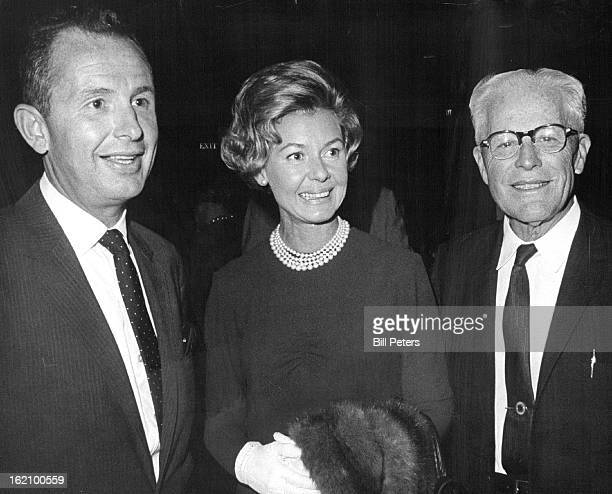 SEP 17 1984 Trigere And Her Fashions Steal Show Jerome Nemioro left vice president of May D F Mrs Nemiro and Clarence ***** Men's Committee...