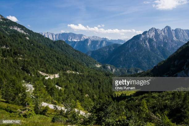 triglav viewpoint - chris putnam stock pictures, royalty-free photos & images