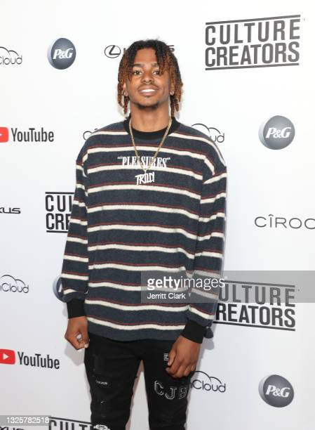 Tril attends the Culture Creators Innovators & Leaders Awards at The Beverly Hilton on June 26, 2021 in Beverly Hills, California.
