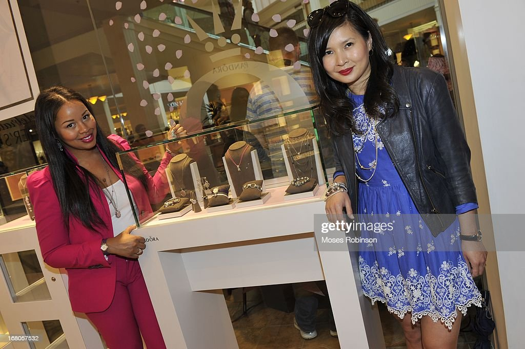 Trina and Melissa Lum attend the PANDORA celebrates Mother's Day at PANDORA at Perimeter Mall on May 4, 2013 in Atlanta, Georgia.