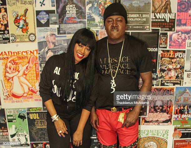 Trina and Trick Daddy at Revolution on February 4 2016 in Fort Lauderdale Florida