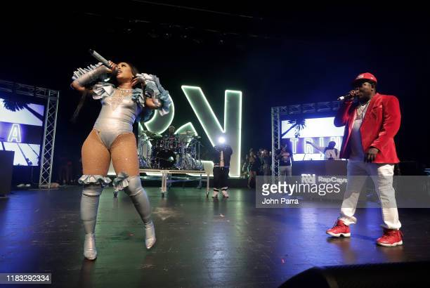 Trina and Trick Daddy perform during the RapCaviar Live Concert on October 24 2019 in Miami Beach Florida