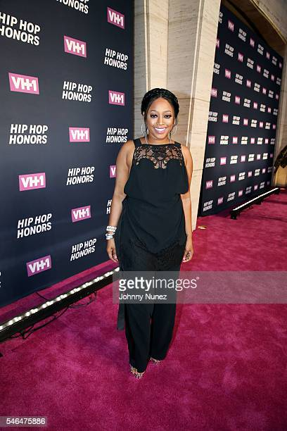 Trina attends 2016 VH1 Hip Hop Honors All Hail The Queens at David Geffen Hall on July 11 2016 in New York City
