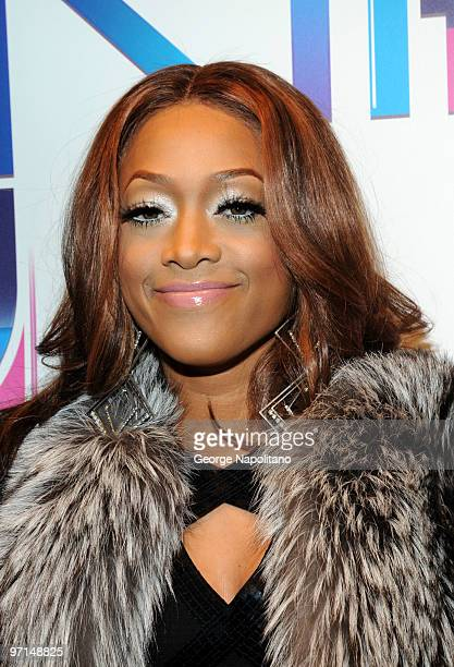 Trina attends BET's Rip The Runway 2010 at the Hammerstein Ballroom on February 27 2010 in New York City