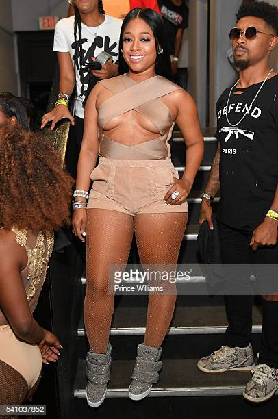 Trina attends the Birthday Bash ATL Classic Hip Hop Concert at The Tabernacle on June 17 2016 in Atlanta Georgia