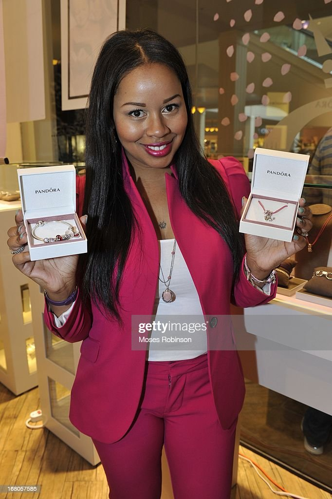 Trina attends the PANDORA celebrates Mother's Day at PANDORA at Perimeter Mall on May 4, 2013 in Atlanta, Georgia.