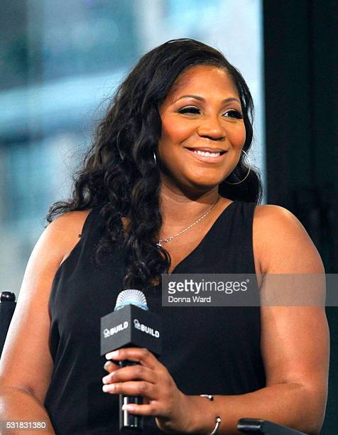 "Trina Braxton appears to discuss ""Braxton Family Values"" during the AOL BUILD Speaker Seriesat AOL Studios In New York on May 16, 2016 in New York..."