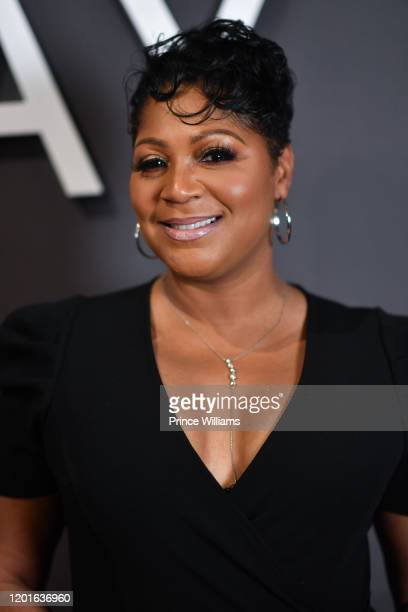 "Trina Braxton attends ""Cherish The Day"" Launch Party at The Stave Room on January 23, 2020 in Atlanta, Georgia."