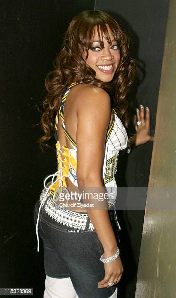 Trina during Fuse and Hot 97 Present Full Frontal Hip Hop with Host Lil' Kim at Webster Hall in New York, New York, United States.