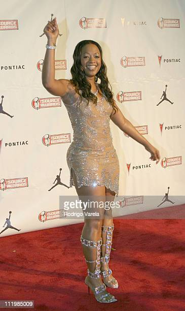 Trina during The Source HipHop Music Awards Red Carpet at Miami Arena in Miami Florida United States