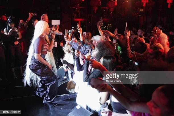 Trina performs onstage at Alex Wang's Big Trouble In Little China At The Rainbow Room Powered by Cash App on February 9 2019 at The Rainbow Room in...