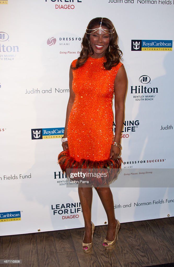 Trina Robinson attends Dress for Success Miami Celebrates 20th Anniversary at The Rusty Pelican>> on October 11, 2014 in Key Biscayne, Florida.