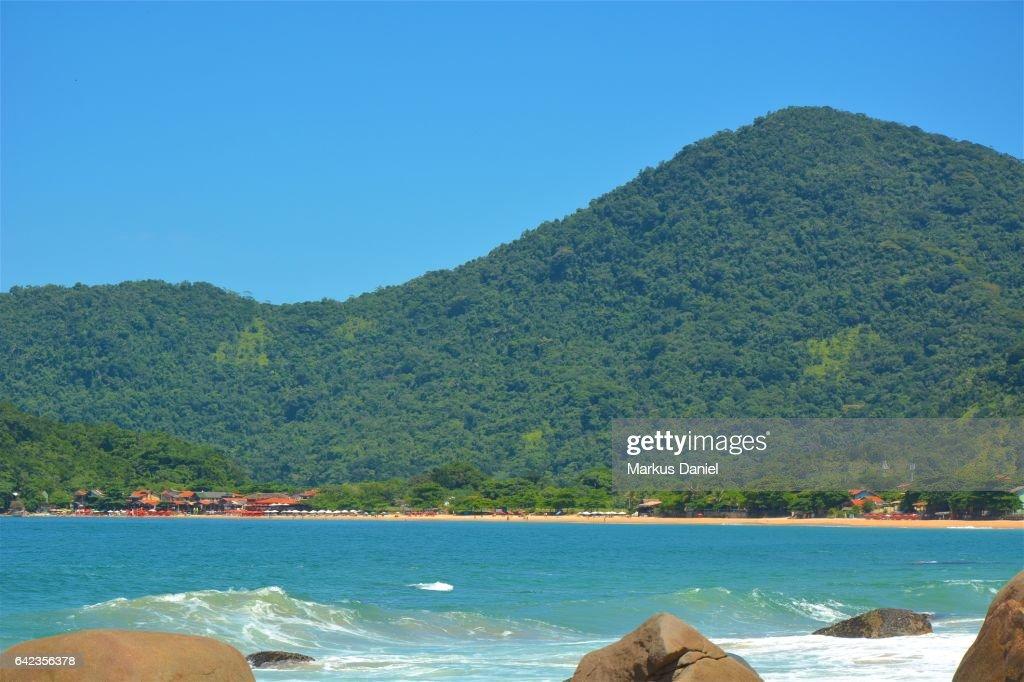 Trindade Beach, Paraty, Rio de Janeiro : Foto de stock